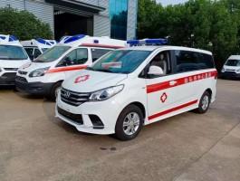 大通G10自动档救护车