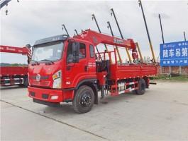 国六6.3吨东风随车吊