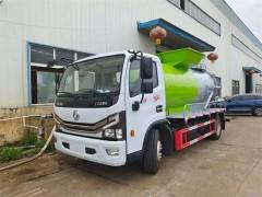 广西桂林张哥订购的东风8方餐厨垃圾车今日来厂提车