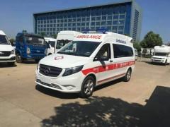 奔驰120急救车厂家检车辆合格-待河南急救车中心提车抗疫