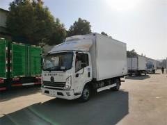 新款4.2米陕汽冷藏车厂家推荐给老客户万总