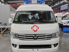 福田风景G9监护型救护车空间大、马力足值得选购