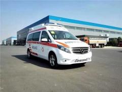 15年救护车李工评测新奔驰威霆救护车
