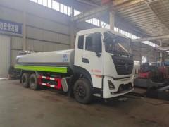 今日发车一台东风18吨不锈钢洒水车到宁夏
