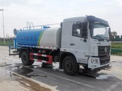 国六东风12吨雾炮洒水车发车动态