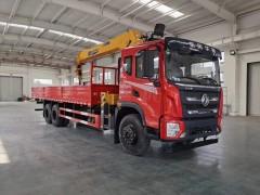 东风华神F5随车吊底盘可选装8-12吨吊机,成熟可靠专业 随车吊动