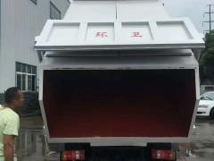 东风柳汽压缩式对接垃圾车