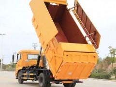 东风6方压缩式对接垃圾车