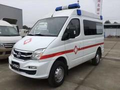 福建急救中心订购V80大通救护车整装待发