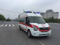 中秋佳节程力救护车担负着急救车使命