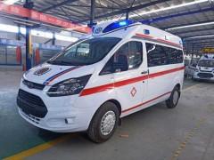 国六福特新全顺V362救护车好-专业 实用 美观