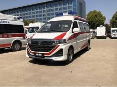 国六海狮王转运型救护车发往江苏康复中心