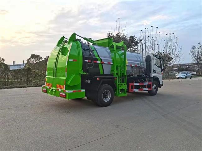 江铃8吨餐厨垃圾车
