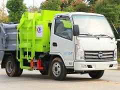 小型3吨餐厨式垃圾车厂家图片