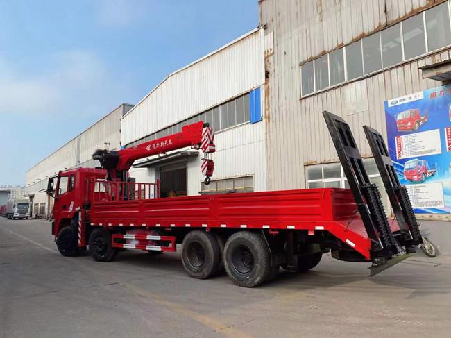 东风锦程14吨随车吊