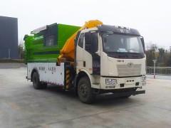 中联8吨吊装式压缩垃圾车新车展示