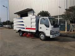 程力扫路车厂家向江西环建推荐五十铃5.5方扫路车