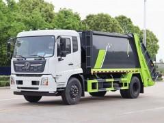 江西吉安张总订购的东风天锦14方压缩式垃圾车吉时发车